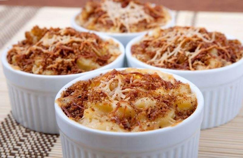 פסטה פיקולה בארבע גבינות-(קווטרו פורמז'ה)